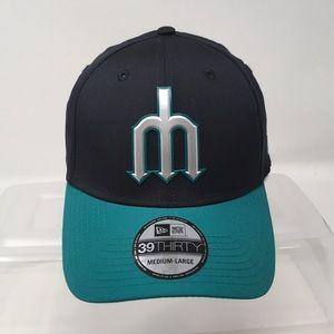 New Era MLB Seattle Mariners Cap Sz Medium-Large